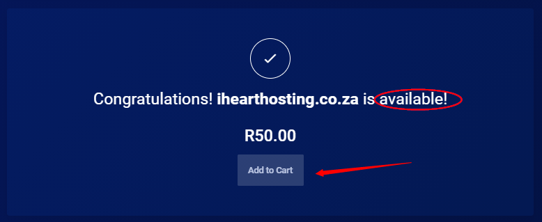 how to host a website in South Africa