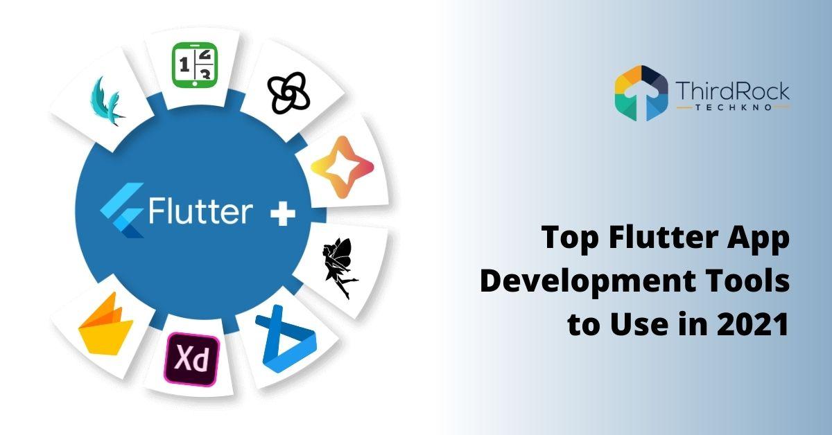 Flutter app development tools