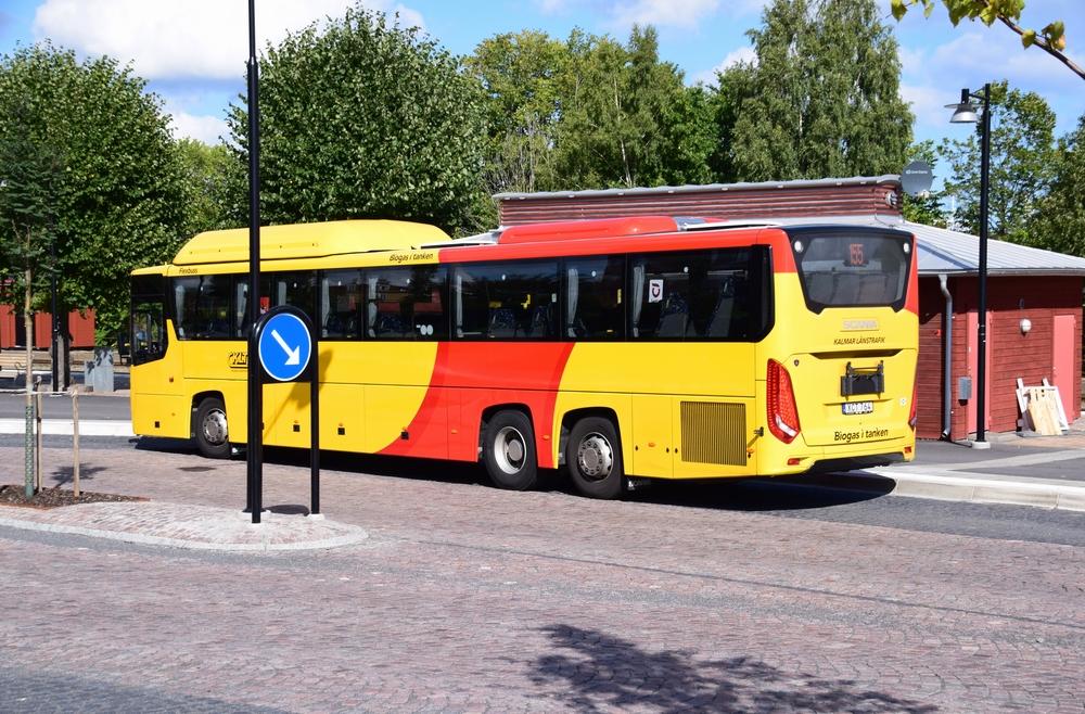 Ônibus em Estocolmo são abastecidos com biocombustível gerado do lixo dos habitantes da cidade. (Fonte: Petratrollgrafik/Shutterstock)