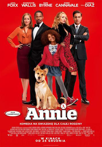 Polski plakat filmu 'Annie'