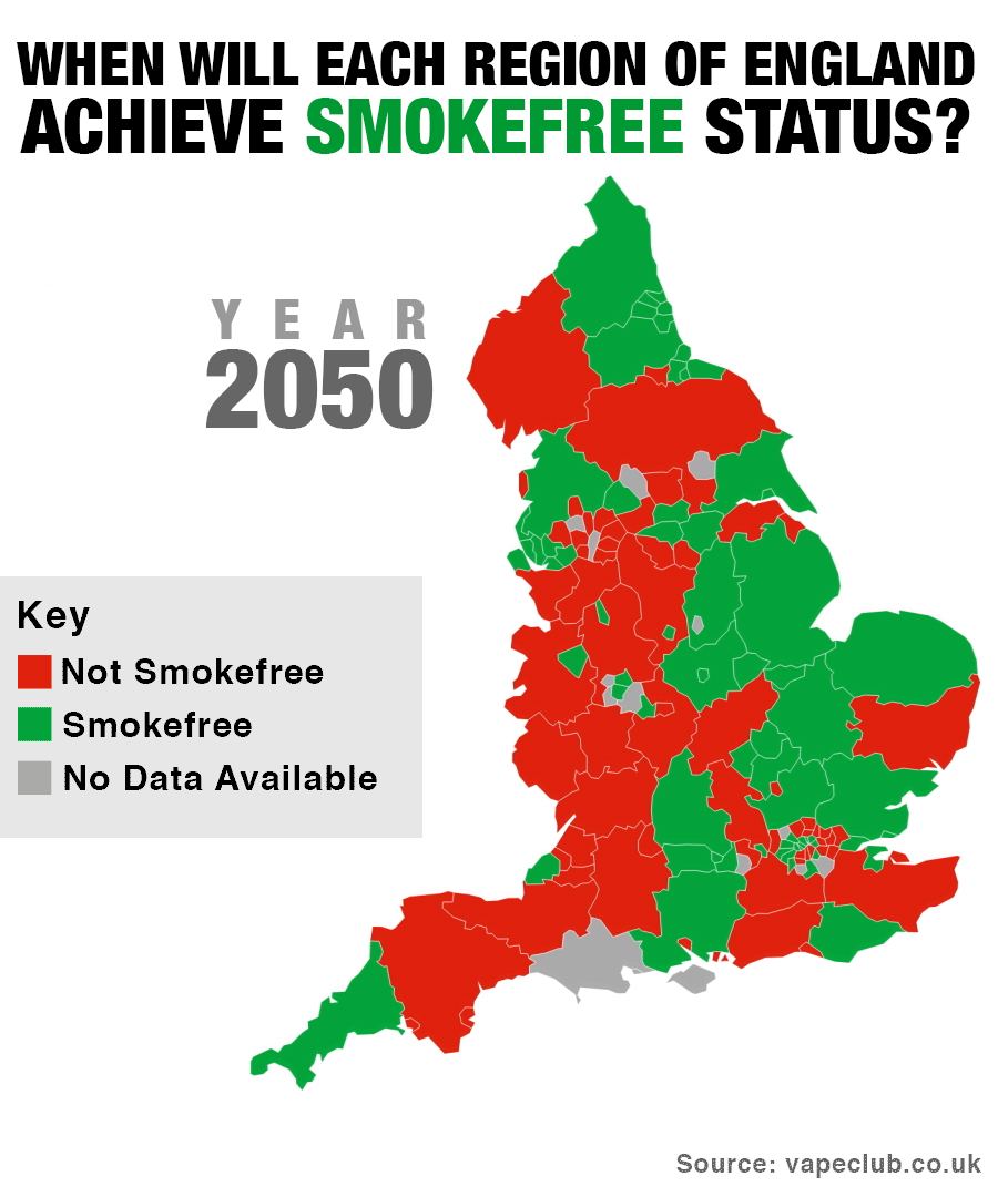 Will England Be Smokefree By 2050?