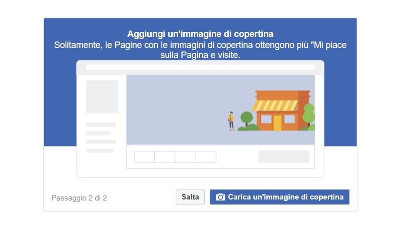Aprire una pagina Facebook