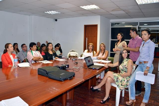 Plan de Desarrollo fue presentado al Comité Municipal de Discapacidad