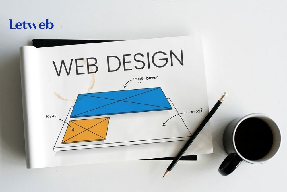 Bố cục là phần đầu tiên bạn cần thực hiện khi bắt tay thiết kế website