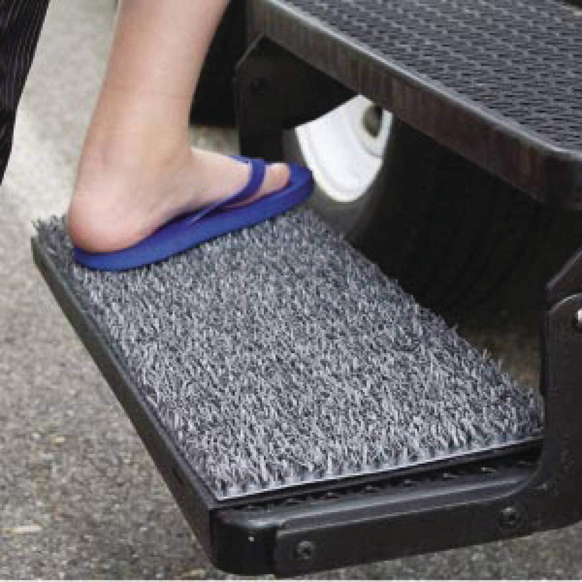 good rv step covers for messy camping and keeping shoes clean