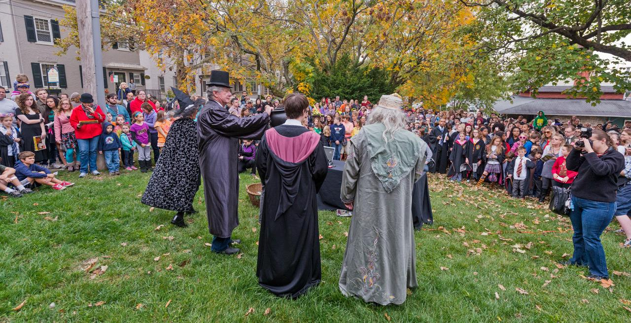Harry Potter, Hogwarts School of Witchcraft and Wizardry, Chestnut Hill College, Philadelphia