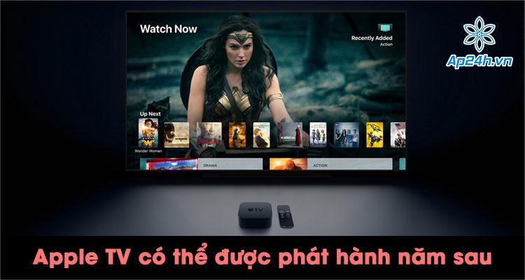 Apple TV mới được đồn đại sẽ phát hành vào năm 2021