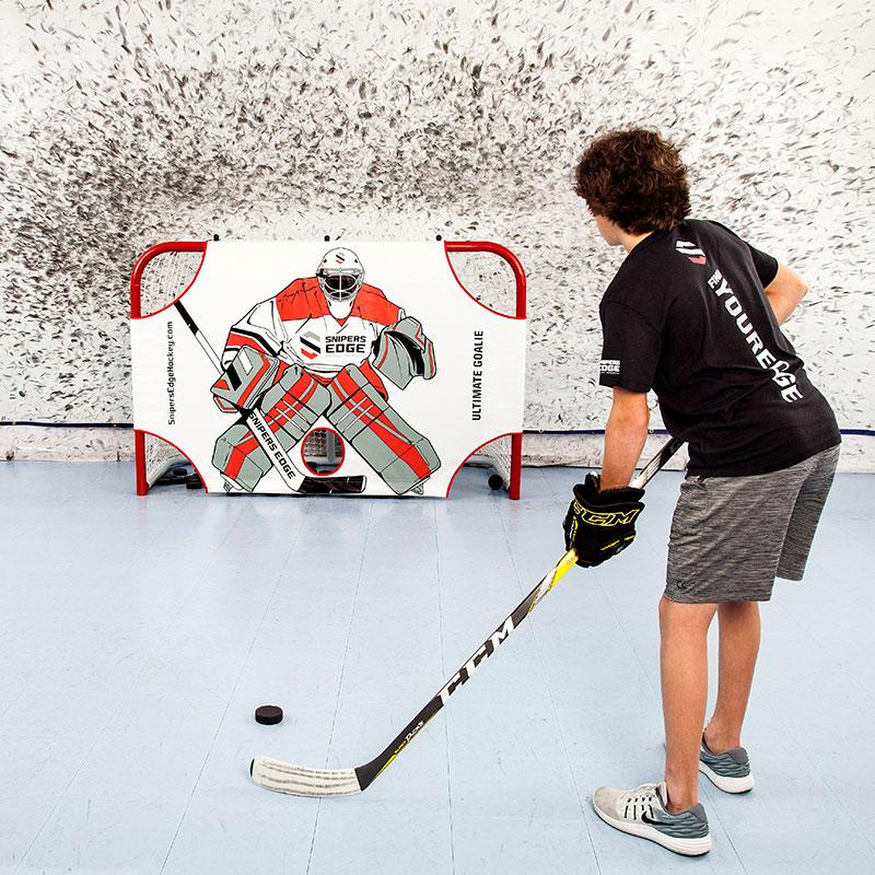 What Hockey Training Aids Work with Slick Tiles?