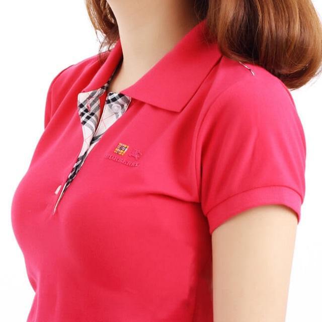 áo thun cổ trụ nữ