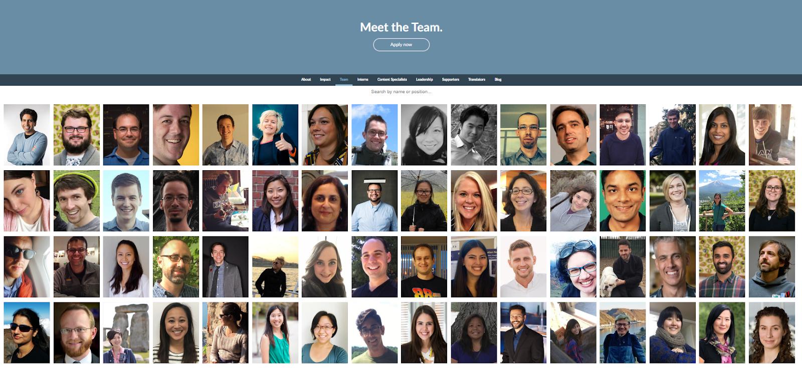 corporate headshots on webstie