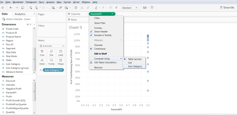 Pareto Chart In Tableau 35