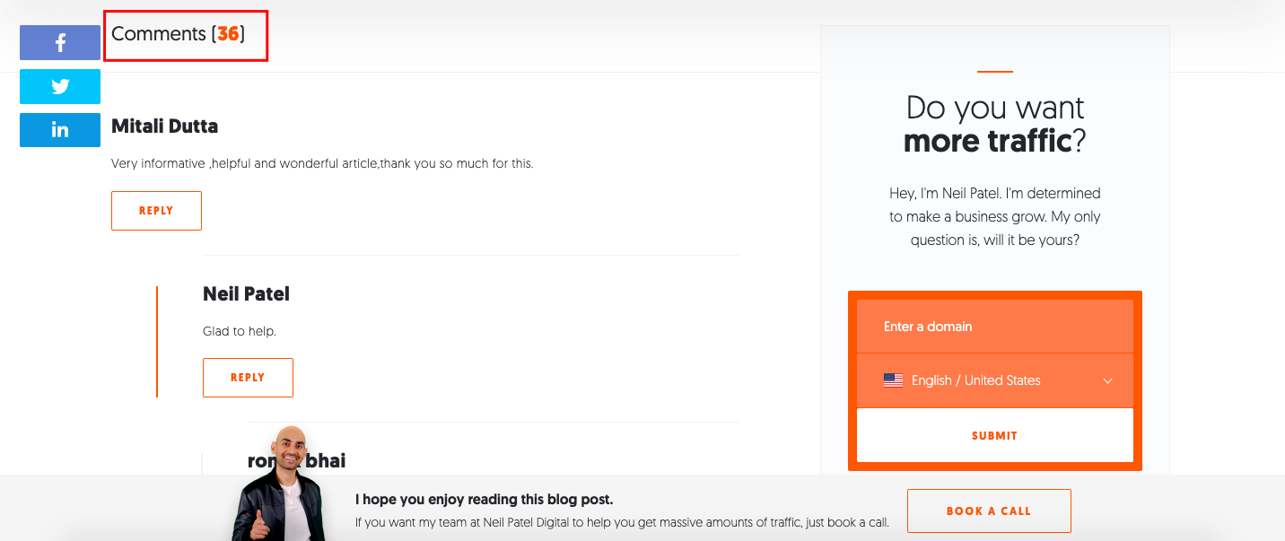 blog visitor tracker