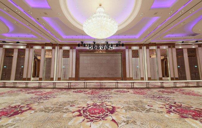 Ballroom có tổng diện tích 1.267 m2