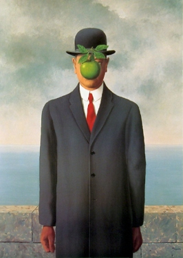 Rene Magritte (1898-1967)  Le fils de l'homme (The Son of Man)