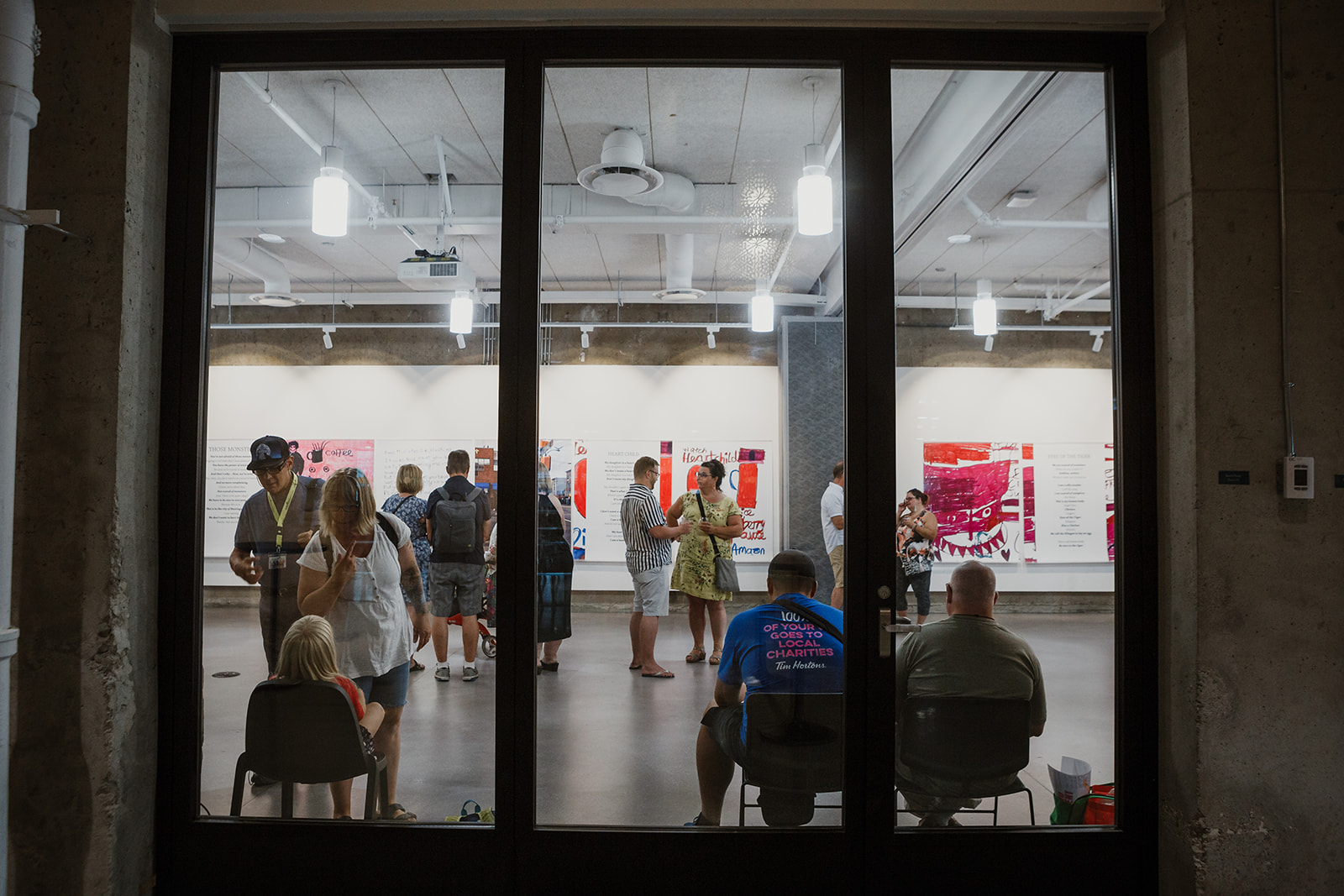Exterior view of Teresa Pocock's Born to Represent opening at 312 Main Street on July 22, 2019 | Photo: This Is It Studios.