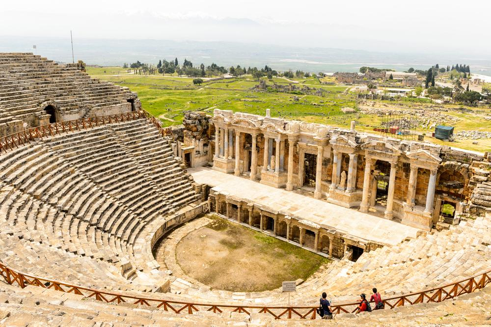 Image result for ancient city of Hierapolis  images