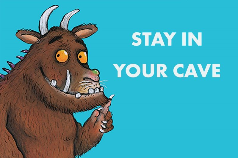 8 Most Impactful PR & Marketing Campaigns During The Pandemic: The Gruffalo