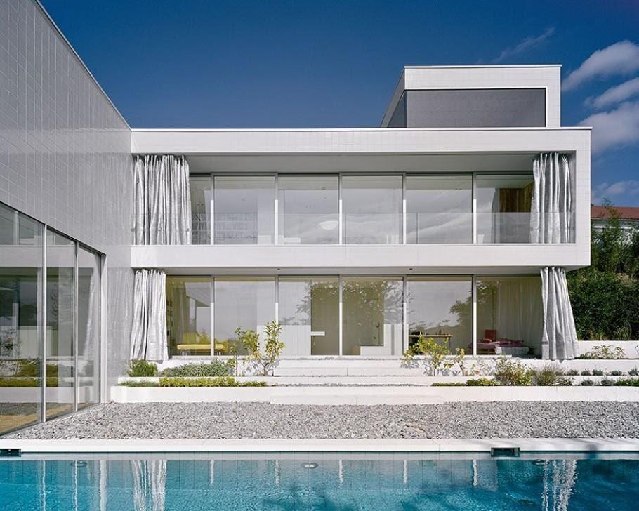 9 Inspirasi Eksterior Rumah Modern Yang Memesona