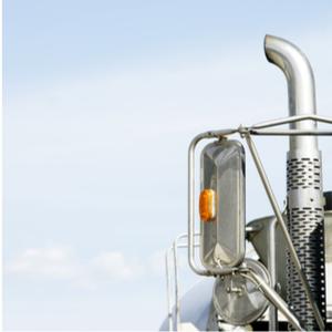 Truck that missed the IFTA fuel tax report deadline