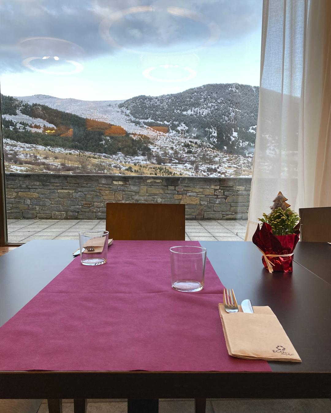 Vistas desde el restaurante del Aparthotel Siento Boi & Spa