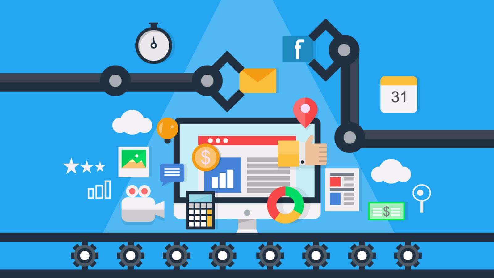 Tự động hóa các hoạt động marketing (cre: GAPIT communications jsc)