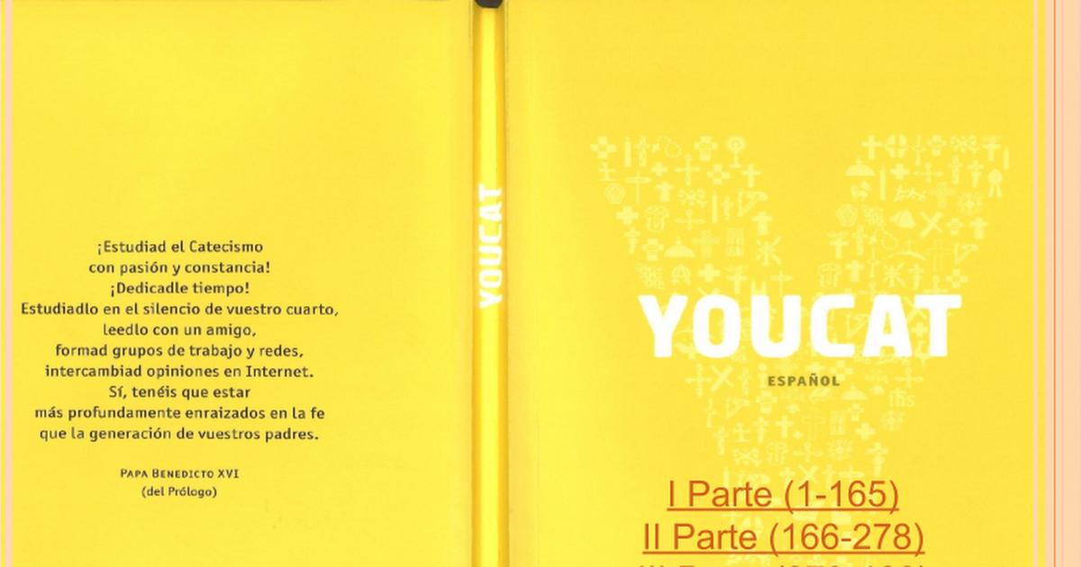 YOUCAT Catecismo Joven de la Iglesia Catolica - Google Slides