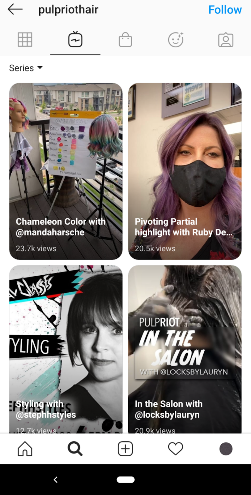 igtv video examples