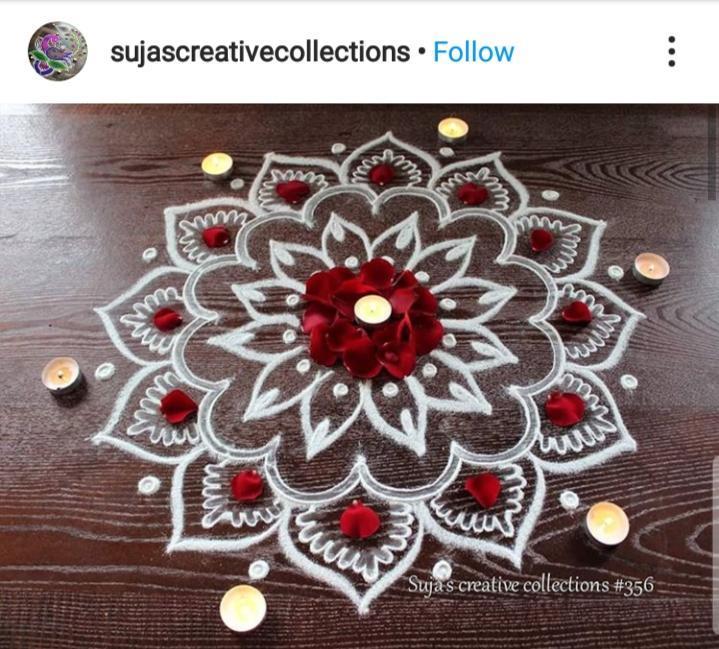Chukki rangoli designs