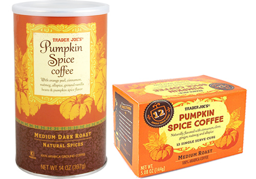 Photo of Pumpkin Spice Coffee packages