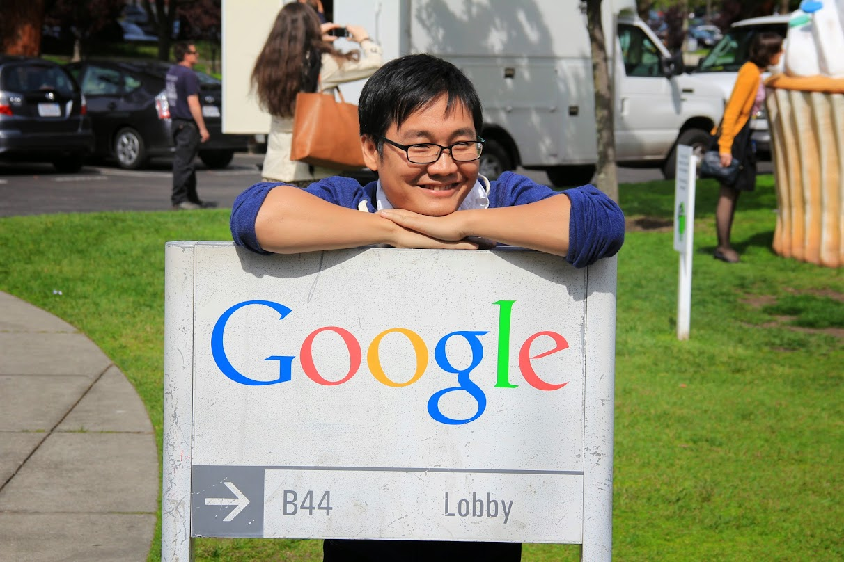 Tharum visits Googleplex