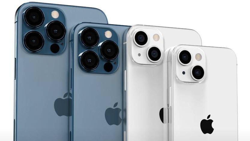 Modelo prospectado del iPhone 13