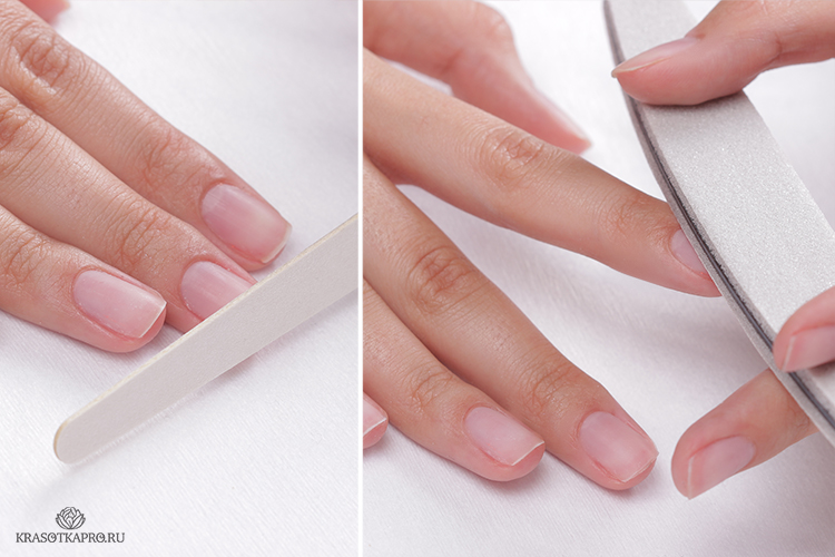 Минеральная паста для полировки и запечатывания ногтей