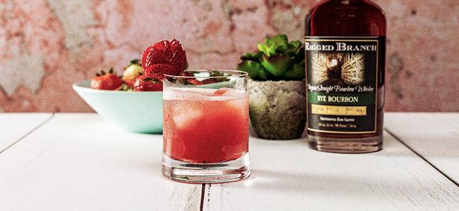 Strawberry Rhubarb Lemonade by Ragged Branch Distillery
