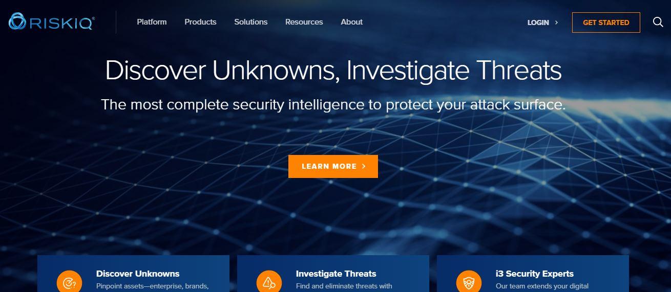 RiskIQ Cybersecurity Company