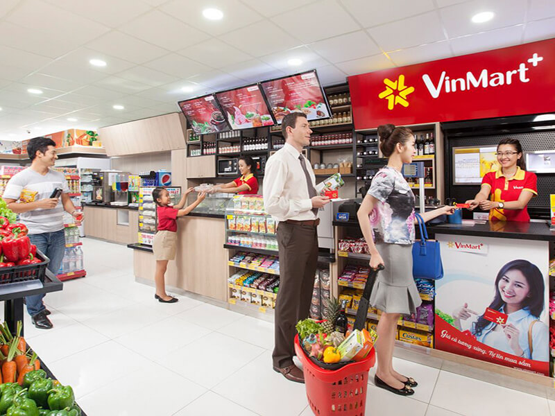 mô hình kinh doanh của Vinmart