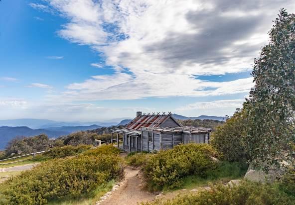 Craigs Hut clear hills track