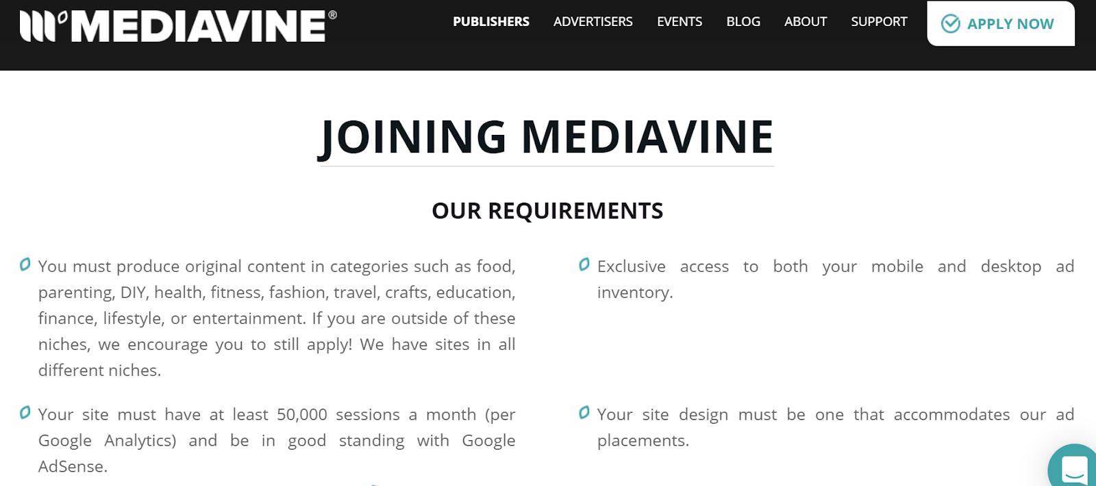 Mediavine advertising platform