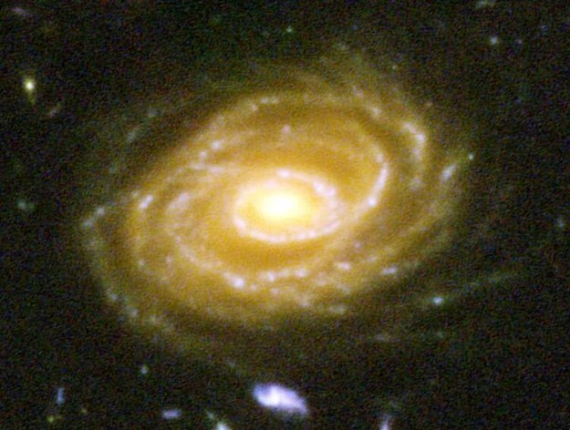 Here's one of the galaxies pictured, UDF 423. This galaxy is 10 BILLION light years away. When you look at this picture, you are looking billions of years into the past.