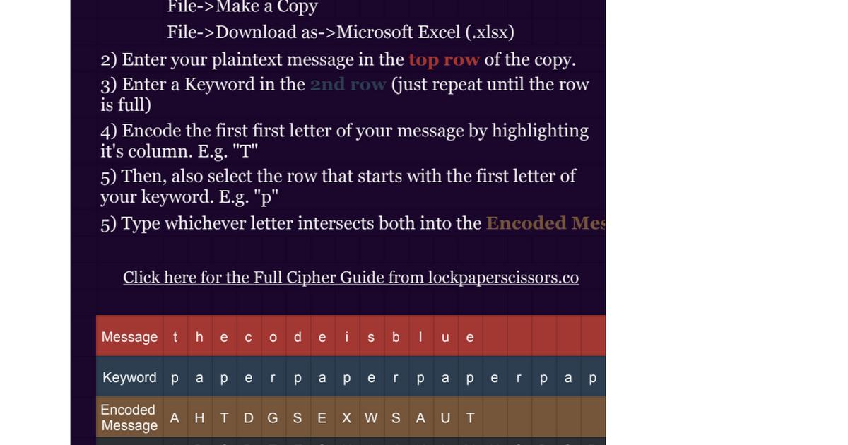Download Keyword Cipher Tool Gif