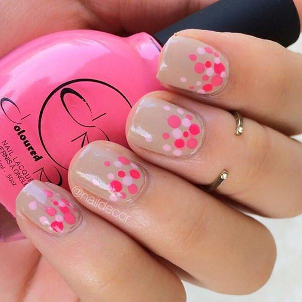 cute nail designs creem (20)