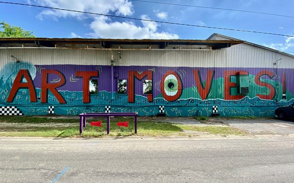 tallhassee mural art moves
