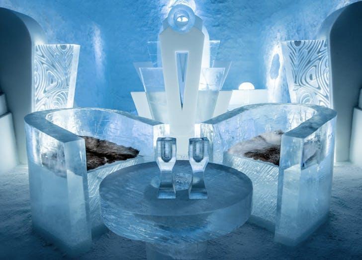 ice hotel in stockholm