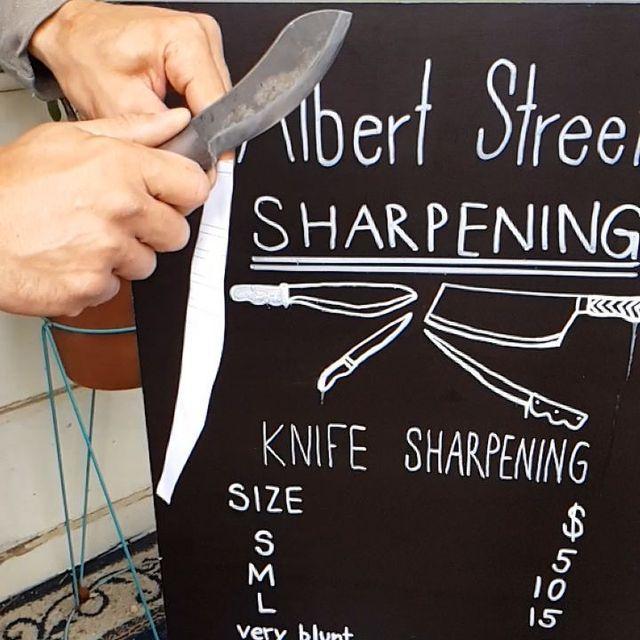 Knife Sharpening - Brunswick Daily