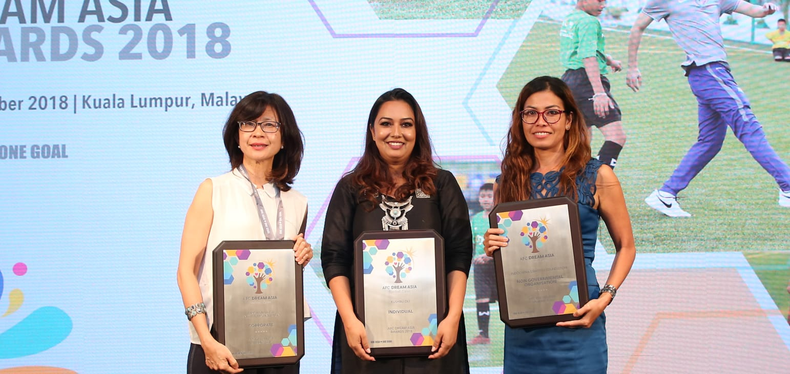 Khusbu Oli awards