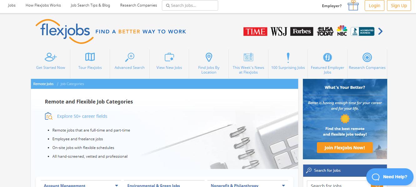 FlexJobs - Remote Jobs Board