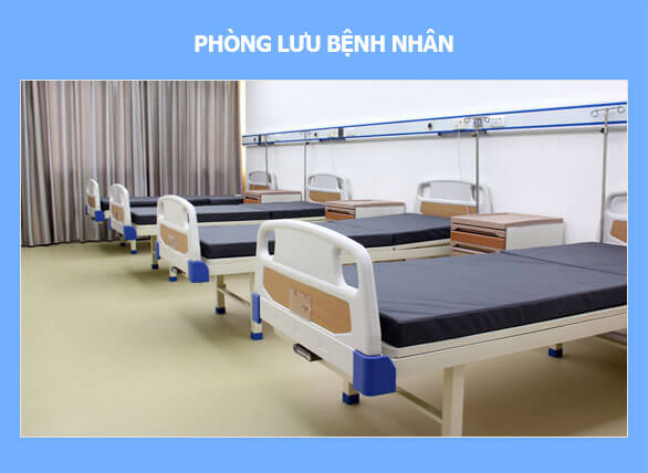 Phòng lưu bệnh nhân của Phòng khám đa khoa Hà Đô