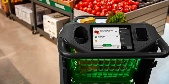 Amazon's Dash Cart Revolutionizes the In-store Checkout Experience