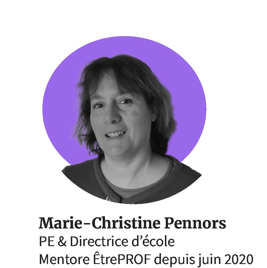 Marie-Christine enseignante directrice d'école
