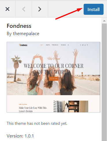 Blogging guide: Install a wordpress theme