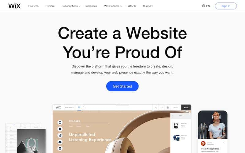 Wix: Shopify Competitor